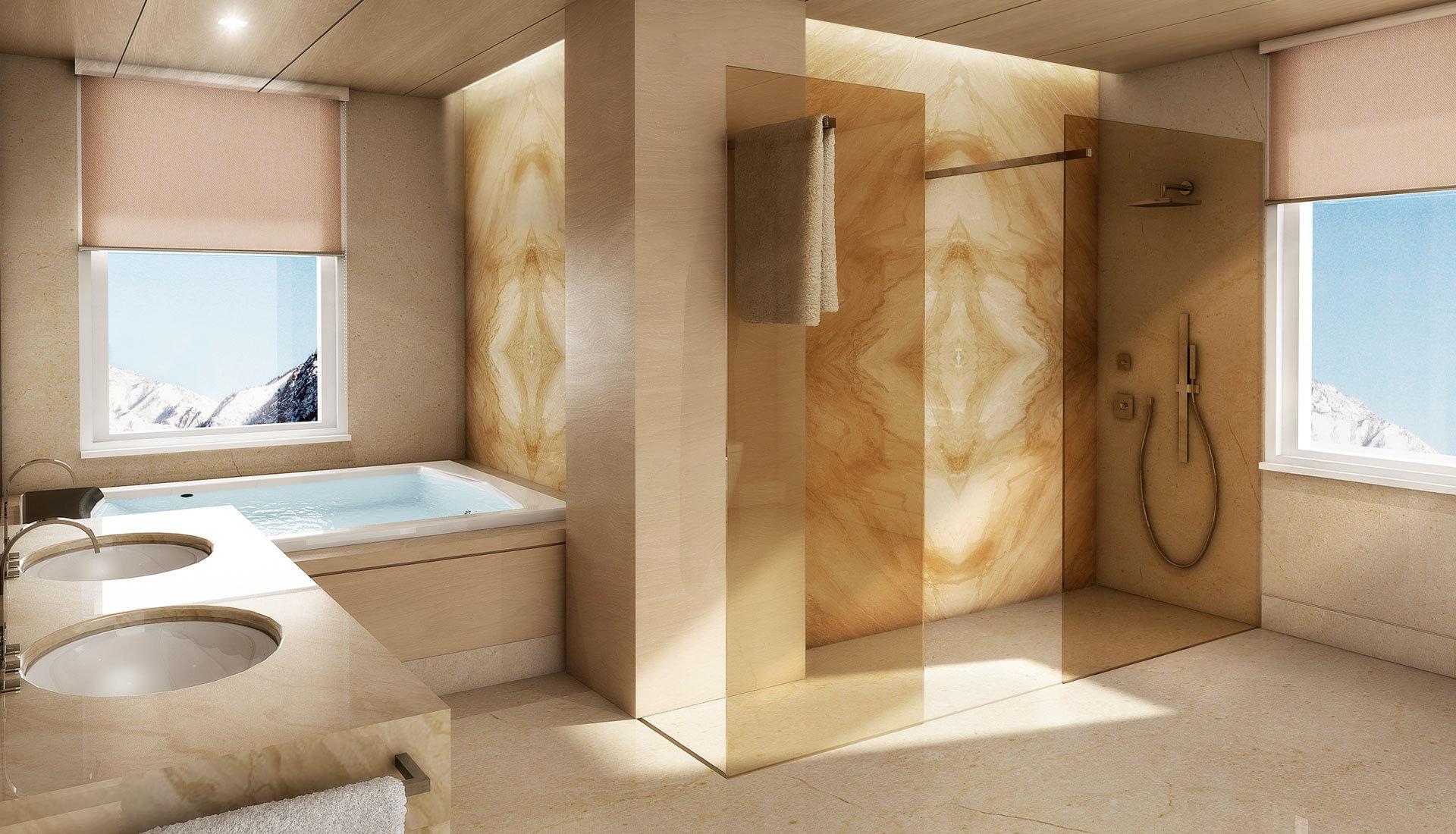 Bagni rtmstudio 3d - Bagno di marmo ...