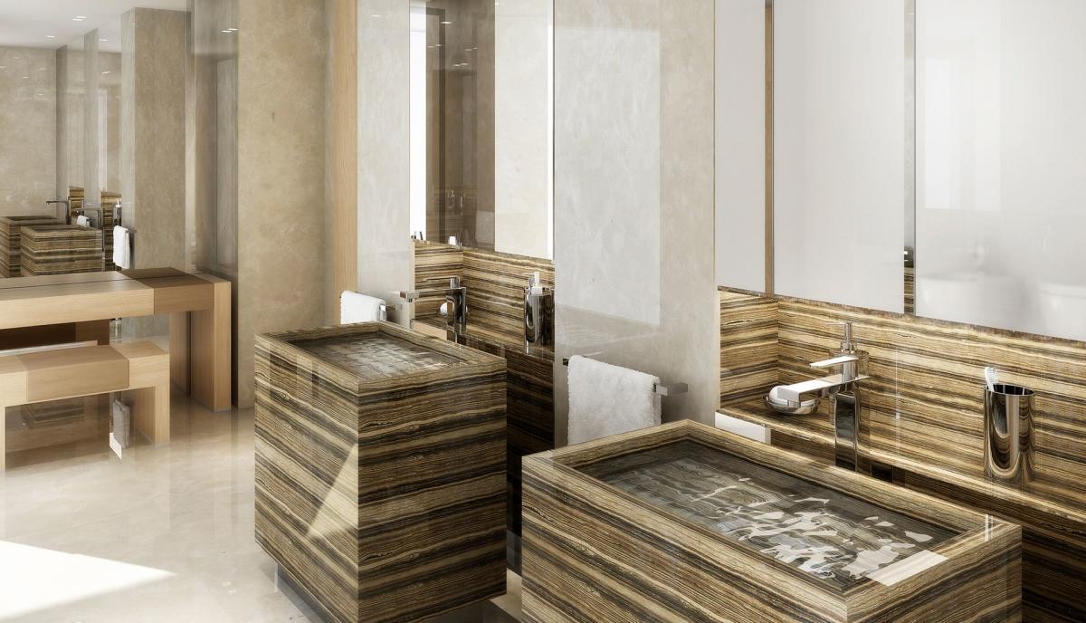 Design Bagno Due : Render bagno lusso design marmo rigatino rendering rtmstudio
