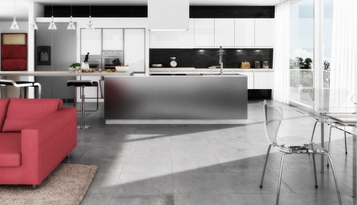 rendering-cucina-design-moderno   Rendering RTMstudio