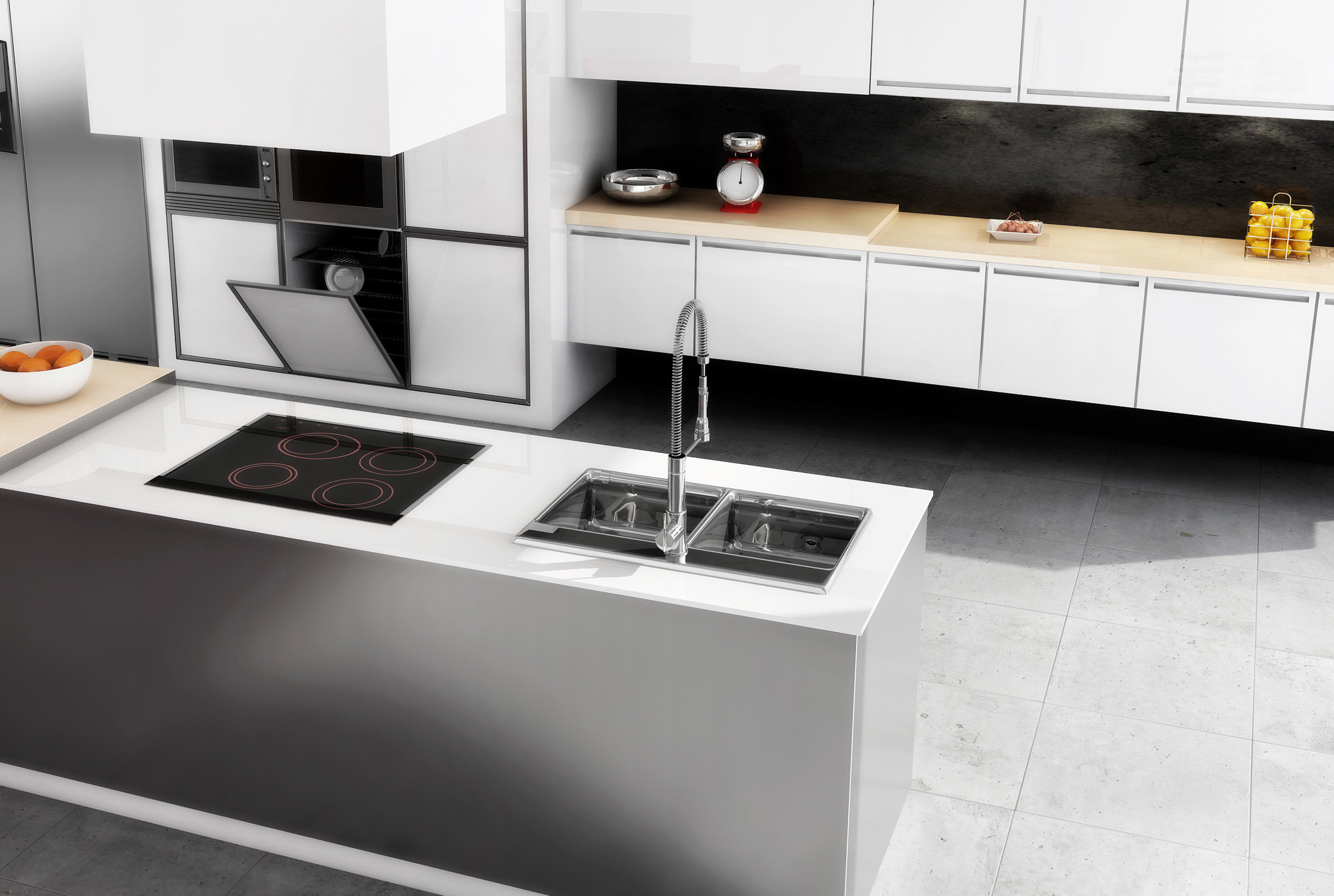 Cucine rtmstudio 3d for Design cucina